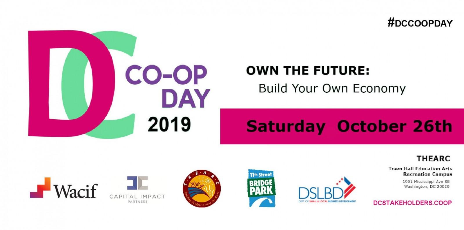 DC Coop Day 2019 Flyer Horizontal - DC Co-op Day 2019